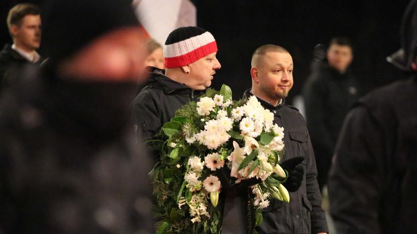 Rechtsextremismus: Neonazis propagieren Opfermythos von Dresden