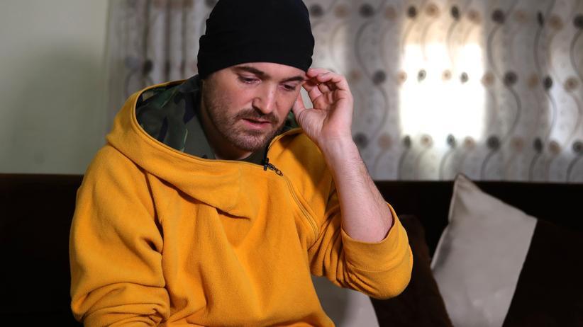IS-Rückkehrer: Sufyan ist 36, deutscher Muslim und sitzt als IS-Unterstützer in kurdischer Haft.