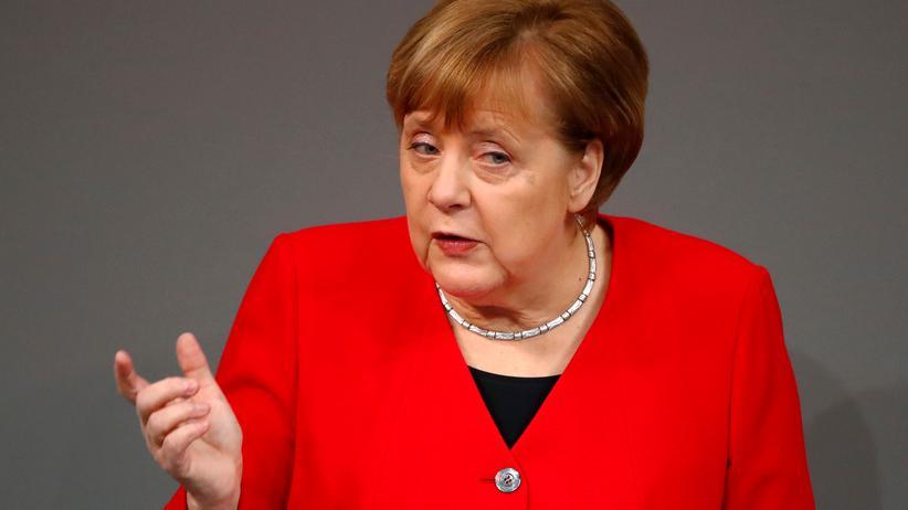 EU-Austritt: Angela Merkel verknüpft Aufschub mit Ja zum Brexit-Vertrag
