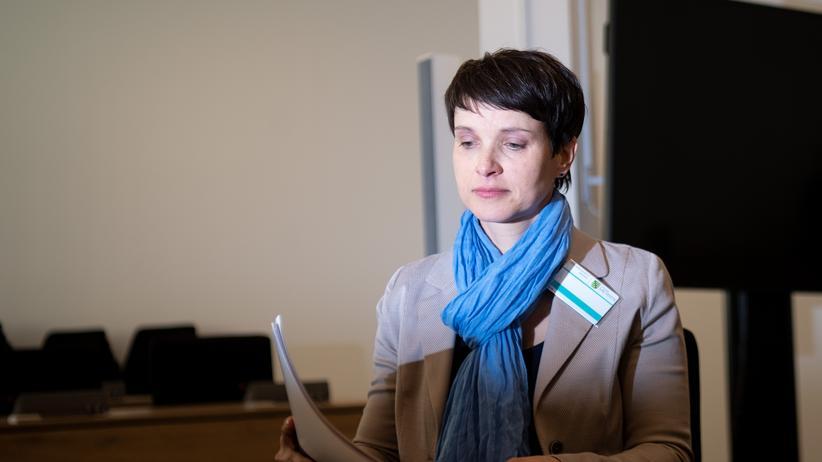 Blaue Partei: Frauke Petry tritt nicht zur Europawahl an