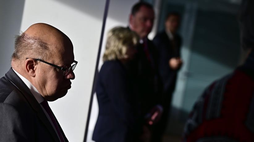 Paketdienste: Bundeswirtschaftsminister Peter Altmaier