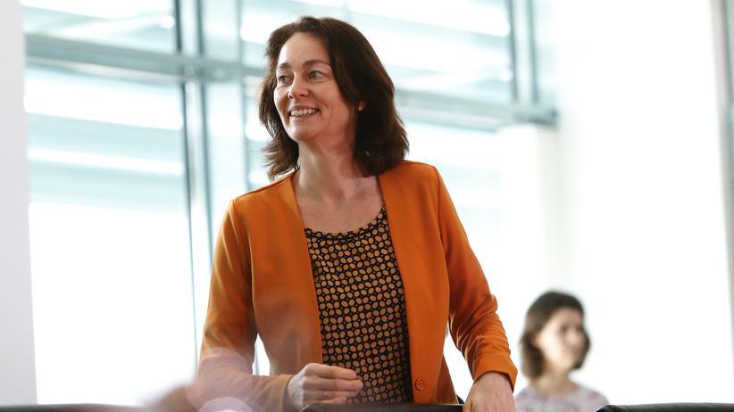 Bundesregierung: Bundesjustizministerin Katarina Barley