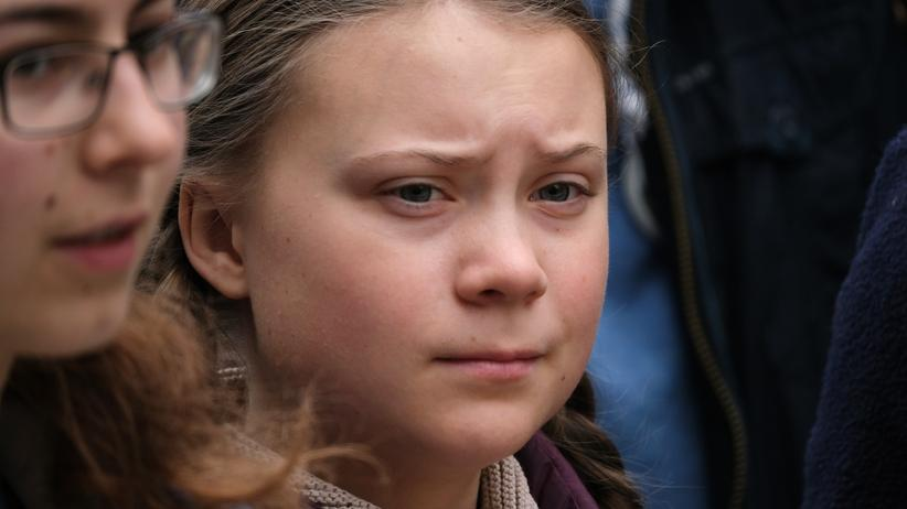 Klimaproteste: Greta Thunberg bei Klimaprotest am Freitag in Berlin