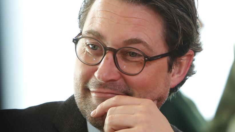 Luftverschmutzung: Bundesverkehrsminister Andreas Scheuer (CSU)