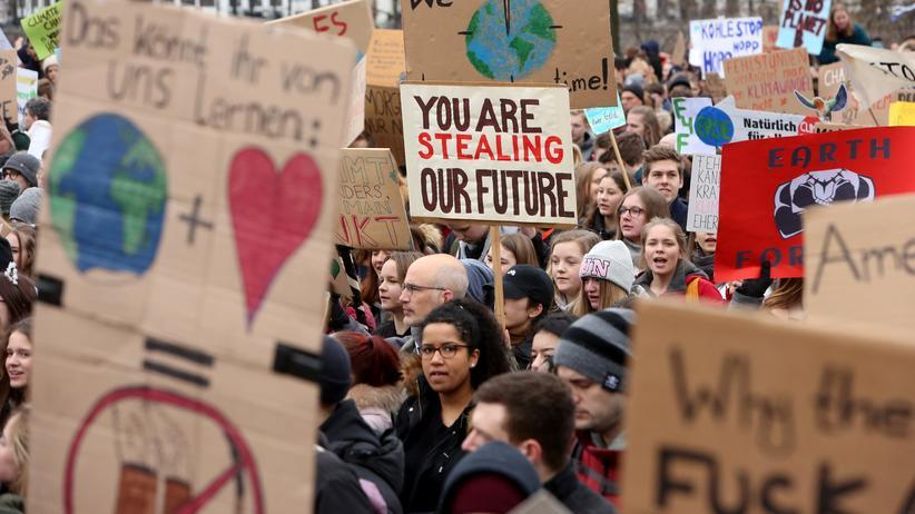 Scientists for Future: Schülerinnen und Schüler bei Fridays-for-Future-Protesten in Hamburg