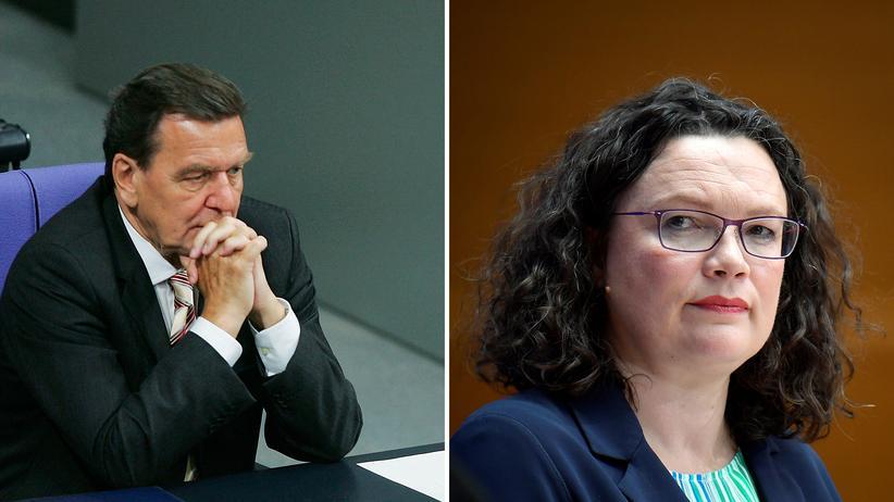 SPD-Chefin: Andrea Schröder