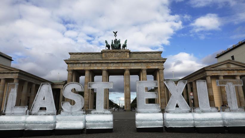 Bundeskanzlerin: Angela Merkel bekennt sich zu CO2-Neutralität bis 2050