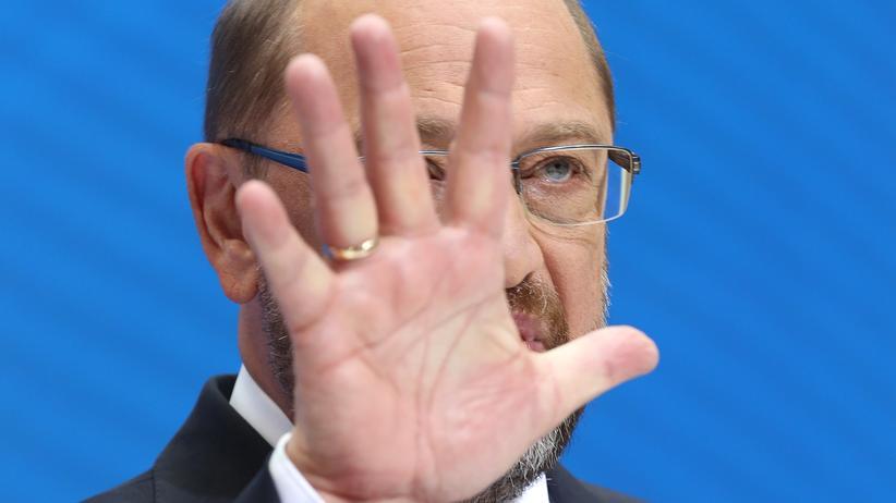 SPD: Martin Schulz will nicht für Fraktionsvorsitz kandidieren