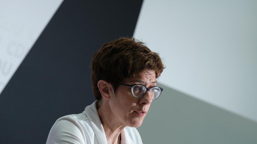 Annegret Kramp-Karrenbauer: CDU-Chefin Annegret Kramp-Karrenbauer