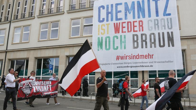 Chemnitz: Kaum Zulauf bei Neonaziprotest