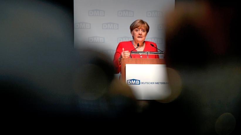 Deutscher Mietertag: Angela Merkel ist gegen Deckelung von Mieten
