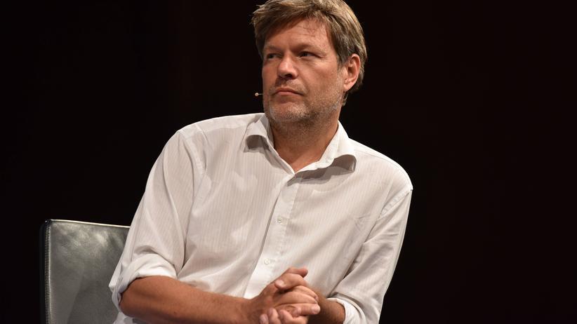 Robert Habeck: Der Grünen-Vorsitzende Robert Habeck in Köln