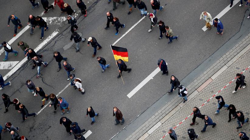 Hetzjagd Chemnitz: Die Demonstration am 1. September 2018 in Chemnitz