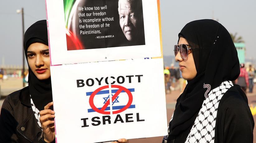Israel-Boykott: Protest in Durban, Südafrika: Aufruf zum Boykott gegen Israel (Archiv)