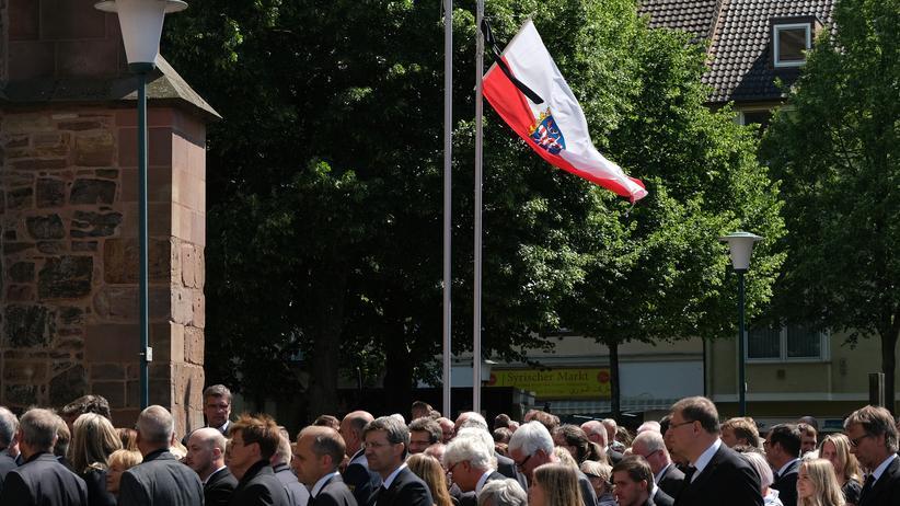 Mordfall Lübcke: Die Trauerfeier für den getöteten CDU-Politiker Walter Lübcke in Kassel