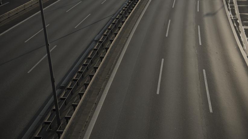 Pkw-Maut: Leere Autobahn