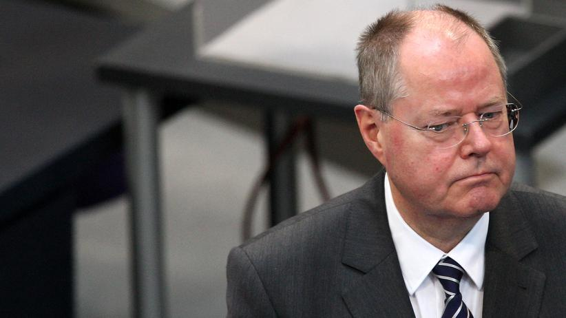 SPD: Der frühere Bundesfinanzminister Peer Steinbrück im Oktober 2013 in Berlin