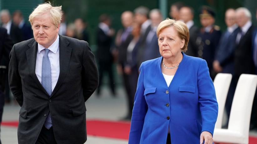 Angela Merkel und Boris Johnson
