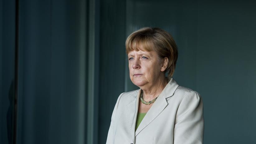 Bundeskanzlerin: Angela Merkel und der Abschied der Königin