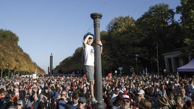CDU: Eine #unteilbar-Demo im Oktober 2018 in Berlin