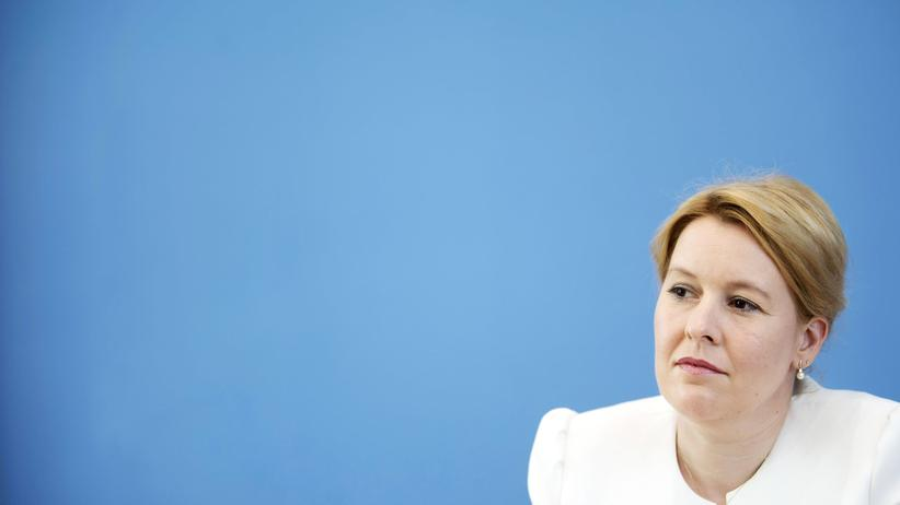 Franziska Giffey: Bundesfamilienministerin Franziska Giffey will nicht für den SPD-Vorsitz kandidieren.