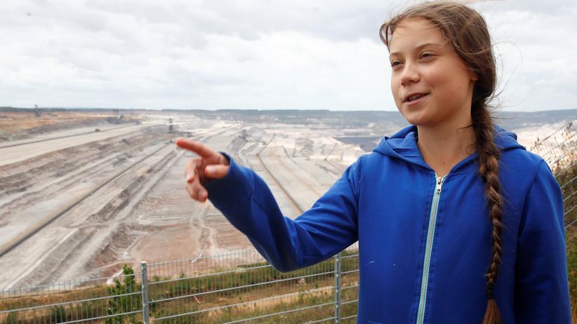 Hambacher Forst: Greta Thunberg für früheren Kohleausstieg Deutschlands