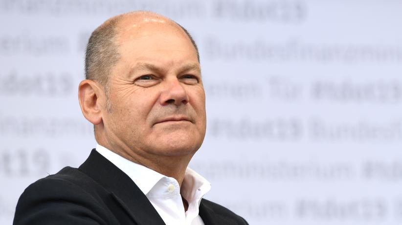 SPD-Vorsitz: Olaf Scholz, deutscher Vizekanzler und Finanzminister