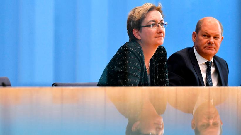 SPD-Vorsitz: Olaf Scholz und Klara Geywitz liegen bei Parteimitgliedern vorn