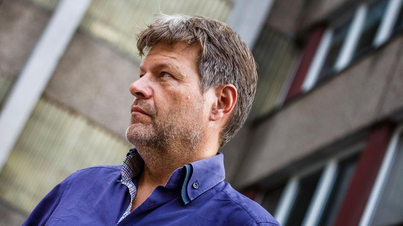 Robert Habeck: Grünen-Chef Robert Habeck bei einer Wahlkampfveranstaltung in Frankfurt an der Oder im Vorfeld der Brandenburger Landtagswahl