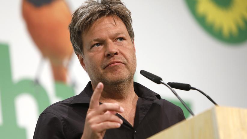 Robert Habeck: Robert Habeck, Parteivorsitzender der Grünen