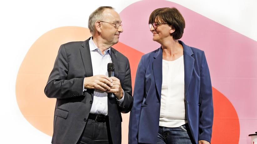 SPD-Bewerber: Könnte besser laufen