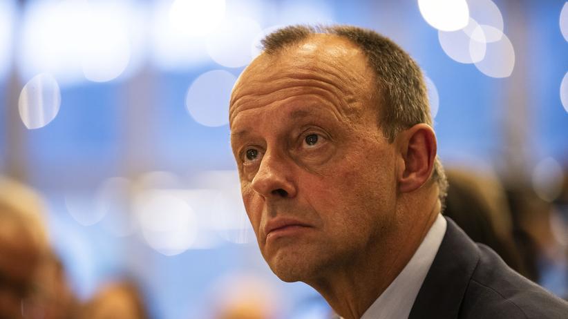 CDU nach Thüringen-Wahl: CDU-Politiker Friedrich Merz attackiert die Kanzlerin und die große Koalition.