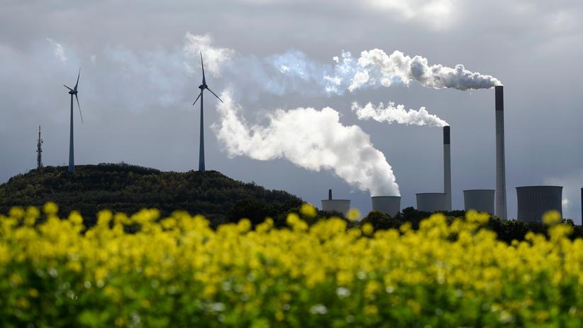 Klimaschutz: Kohlekraftwerk bei Gelsenkirchen: Laut Berichten wird für das Jahr 2040 kein nationales Ziel zur CO2-Einsparung mehr definiert.