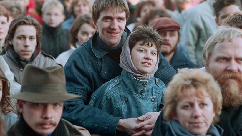 Meinungsfreiheit: Ein Paar im Herbst 1989, Berlin