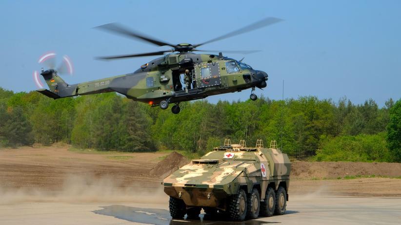 Nato: Bundeswehrübung im norddeutschen Munster