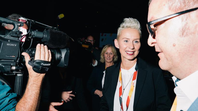 Bundesparteitag: Silvia Breher, in Leipzig frisch gewählte Vize-Vorsitzende, gehört zu den Gegnerinnen einer CDU-Frauenquote.