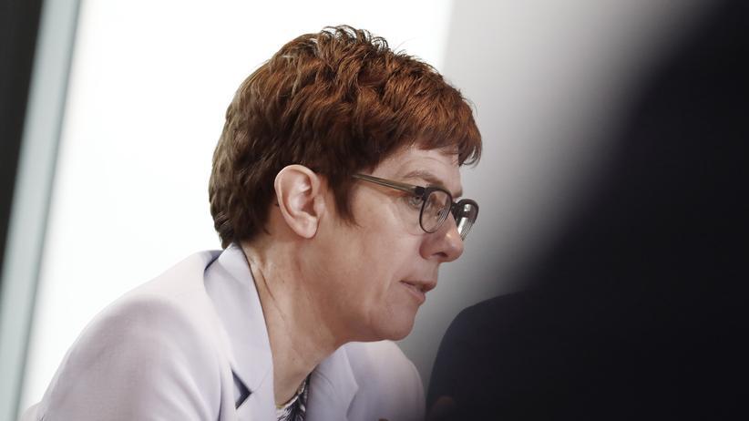 CDU: Annegret Kramp-Karrenbauer, CDU-Vorsitzende und Verteidigungsministerin