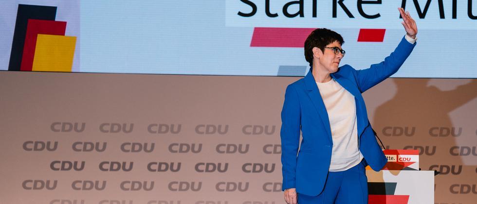 CDU-Parteitag: Machtkampf? Welcher Machtkampf?