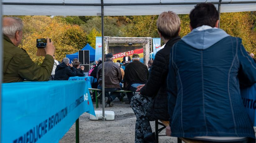 Die Grünen: Wahlkampfauftritt des AfD-Politikers Björn Höcke in Thüringen