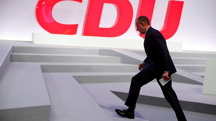 Große Koalition: Friedrich Merz auf dem Bundesparteitag der CDU Mitte November in Leipzig