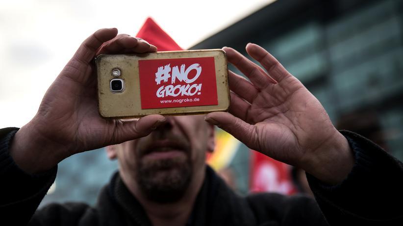 SPD-Parteitag: SPD-Linke fordern Abstimmung über Groko-Ausstieg