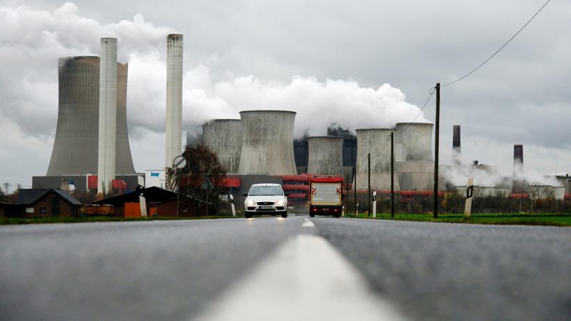 Ein Kohlekraftwerg – der CO2-Preis wird höher.