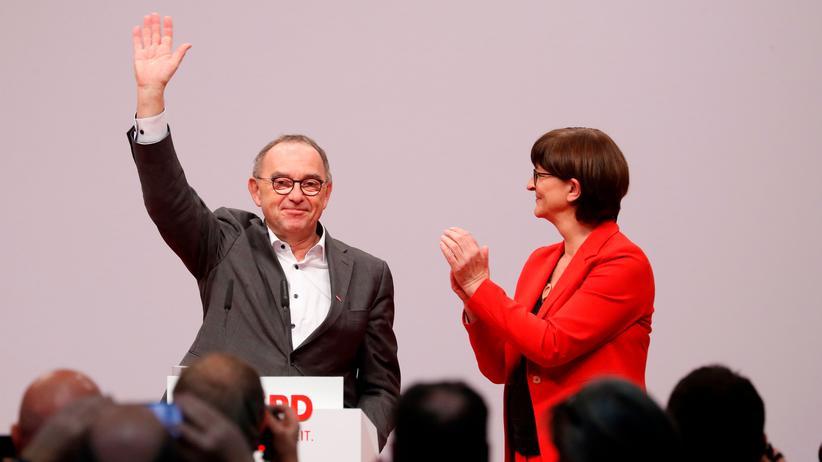 Norbert Walter-Borjans und Saskia Esken: Links ohne Ruck