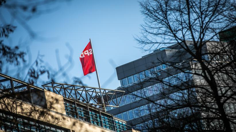 SPD: Die SPD-Parteizentrale in Berlin