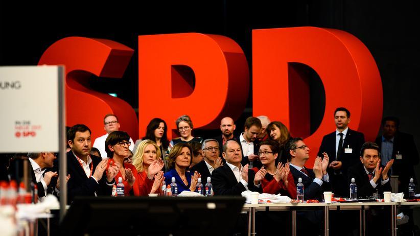 SPD: Mit Applaus in die Zukunft der SPD