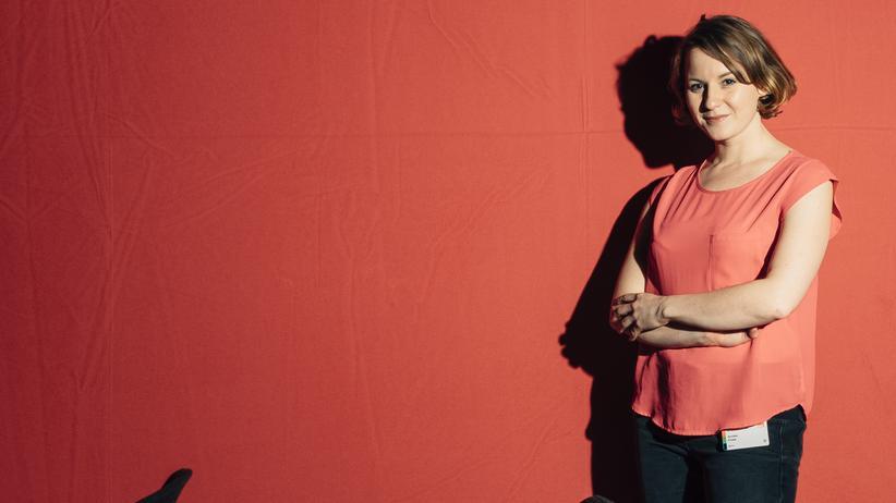 Jusos: Annika Klose beim SPD-Parteitag in Berlin