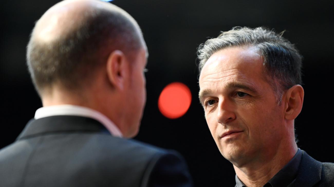 SPD-Vorstandswahl: Heiko Maas doch noch in den SPD-Vorstand gewählt