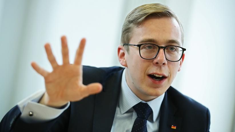 Antisemitismus: Philipp Amthor, Bundestagsabgeordneter der CDU