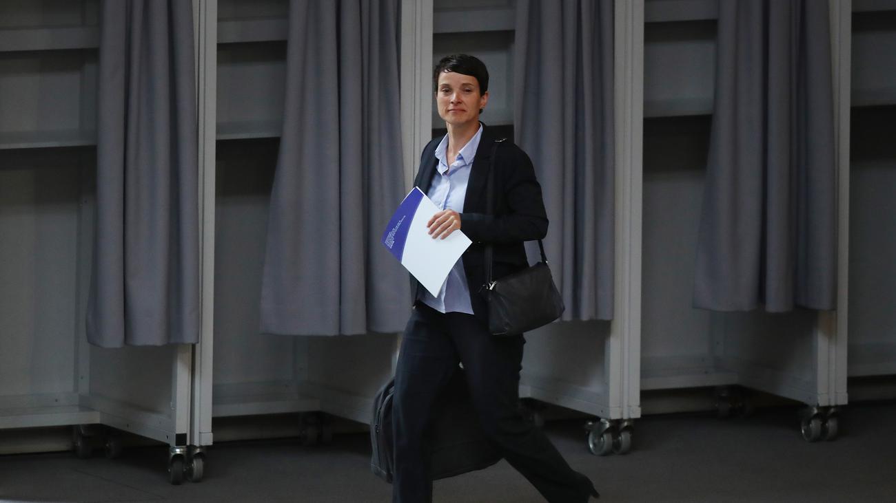 Steuerhinterziehung: Frauke Petry in Prozess um Subventionsbetrug freigesprochen