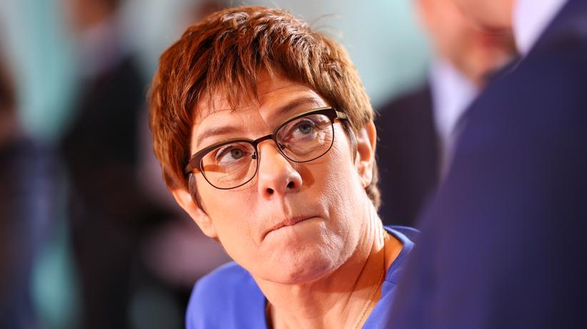 Annegret Kramp-Karrenbauer: Die CDU-Vorsitzende und Bundesverteidigungsministerin Annegret Kramp-Karrenbauer